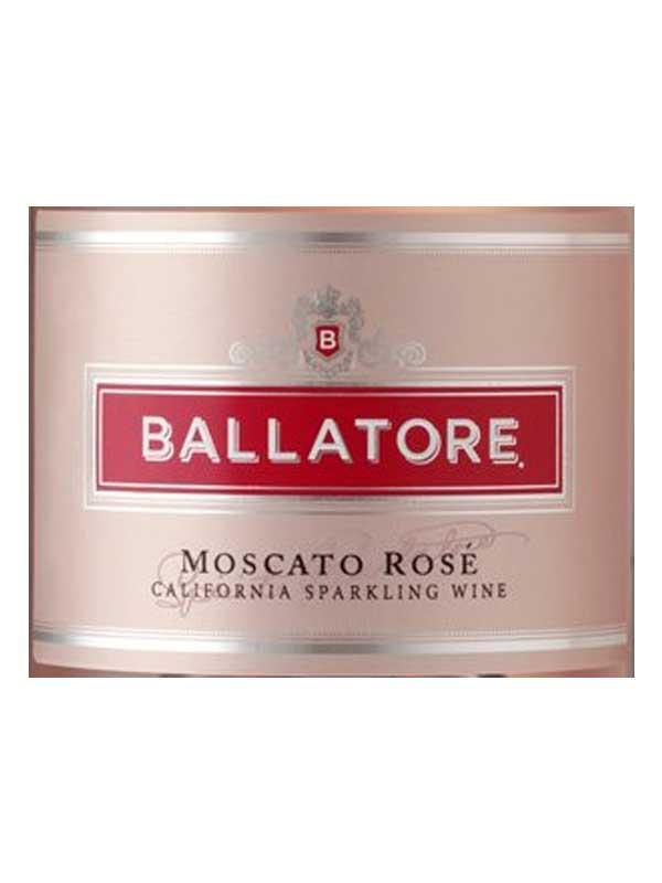 Ballatore Ballatore Moscato Rose Nv 750ml Wespeakwine Com