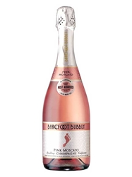 Barefoot Bubbly Pink Moscato Champagne NV 750ML Bottle