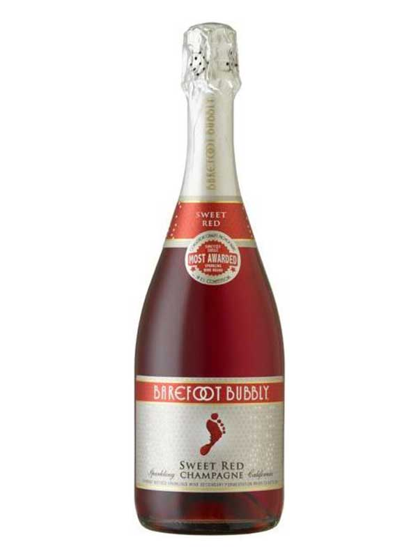 Barefoot Cellars Bubbly Sweet Red NV 750ML Bottle