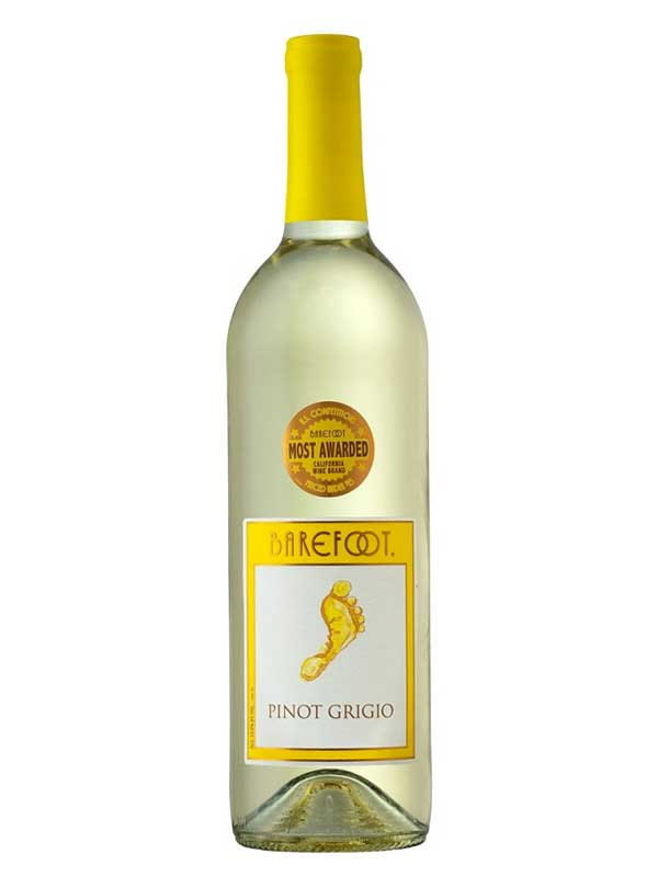 Barefoot Cellars Pinot Grigio 750ML Bottle