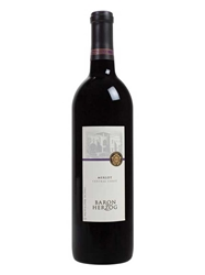 Baron Herzog Merlot 750ML Bottle