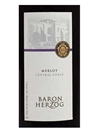 Baron Herzog Merlot 750ML Label