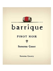 Barrique Pinot Noir Sonoma Coast 750ML Label