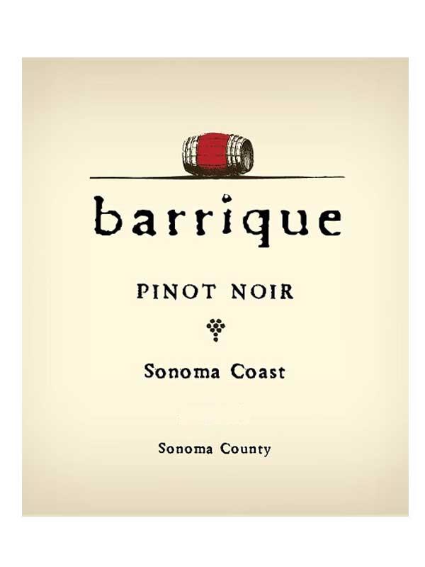 Barrique Barrique Pinot Noir Sonoma Coast 2015 750ml