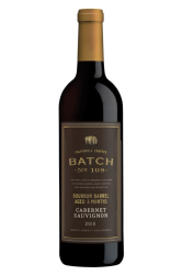 Batch 198 Cabernet Sauvignon Bourbon Barrel Aged 3 Months North Coast 2018 750ML Bottle