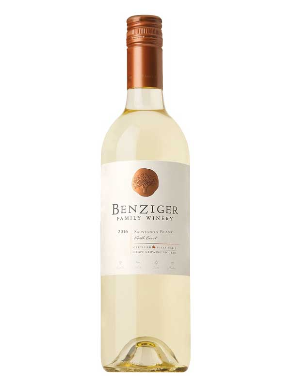 Benziger Family Winery Sauvignon Blanc North Coast 2016 750ML Bottle