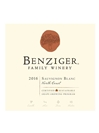 Benziger Family Winery Sauvignon Blanc North Coast 2016 750ML Label
