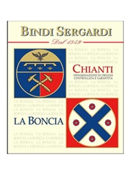 Bindi Sergani La Boncia Chianti DOCG 2014 750ML Label