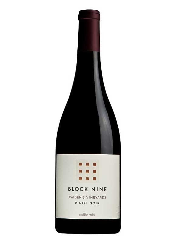 Block Nine Pinot Noir Caiden's Vineyards 2014 750ML Bottle