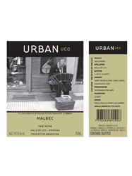 Bodegas Y Vinedos O Fournier Urban Malbec Uco Mendoza 2015 750ML Label