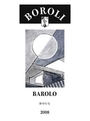 Boroli Barolo Piedmont 2008 750ML Label