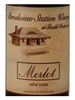 Brookview Station Winery Merlot Hudson Valley 750ML Label
