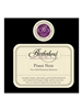 Brotherhood Winery Pinot Noir Hudson Valley 750ML Label