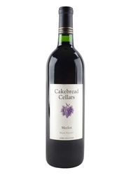 Cakebread Merlot Napa Valley 750ML Bottle
