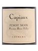 Capiaux Cellars Pinot Noir Chimera Vineyard Russian River Valley 750ML Label