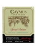 Caymus Vineyards Special Selection Cabernet Sauvignon Napa Valley 750ML Label
