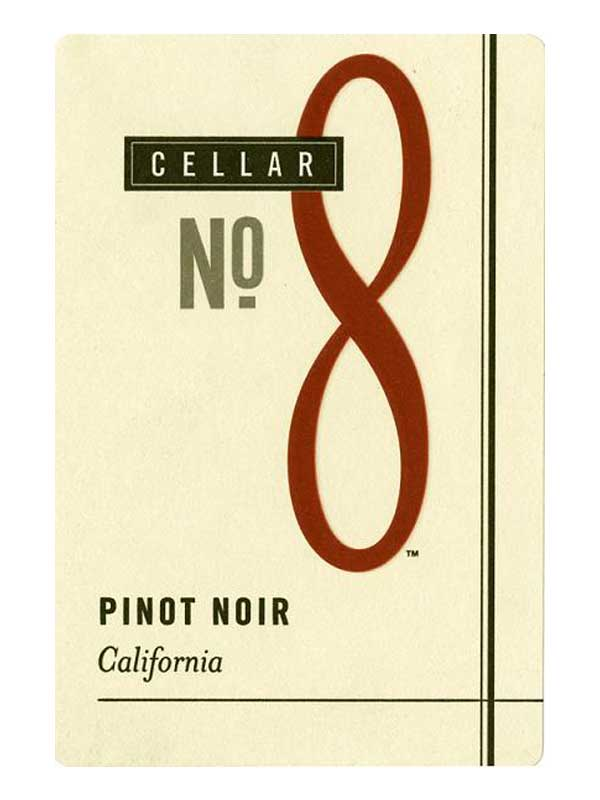 Cellar No. 8 Pinot Noir 2012 750ML Label