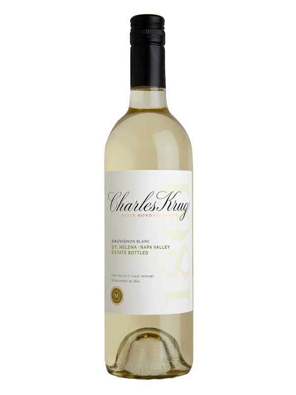 Charles Krug Sauvignon Blanc St. Helena Napa Valley 2014 750ML Bottle