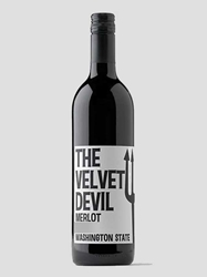 Charles Smith Wines The Velvet Devil Merlot Columbia Valley 2014 750ML Bottle