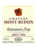 Chateau Mont-Redon Chateauneuf du Pape Rouge 750ML Label