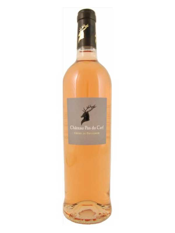 Chateau Pas du Cerf Cotes de Provence Rose 750ML Bottle