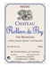 Chateau Rollan de By Cru Bourgeois Medoc 750ML Label
