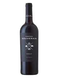 Chateau Souverain Merlot North Coast 750ML Bottle