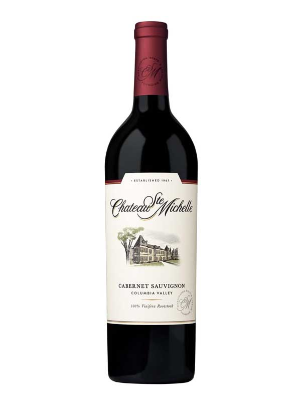Chateau Ste Michelle Cabernet Sauvignon Columbia Valley 750ML Bottle