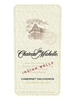 Chateau Ste. Michelle Cabernet Sauvignon Indian Wells Columbia Valley 750ML Label