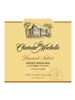 Chateau Ste Michelle Harvest Select Riesling Columbia Valley 2015 750ML Label