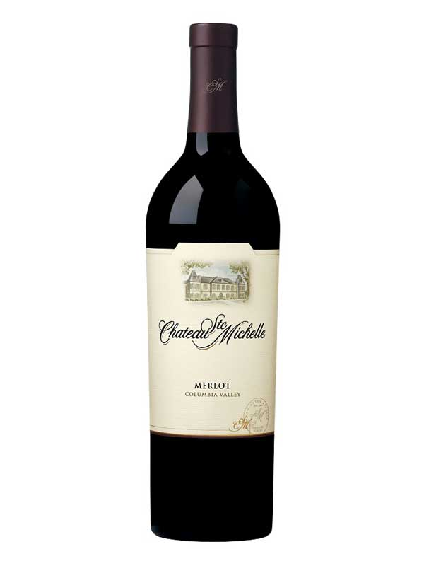 Chateau Ste Michelle Merlot Columbia Valley 750ML Bottle