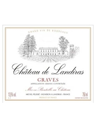 Chateau de Landiras Graves 750ML Label