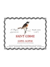 Chateau de Saint Cosme Cote Rotie 2014 750ML Label