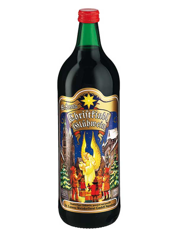 Christkindl Gluhwein Red Spiced Wine 1 Liter Bottle