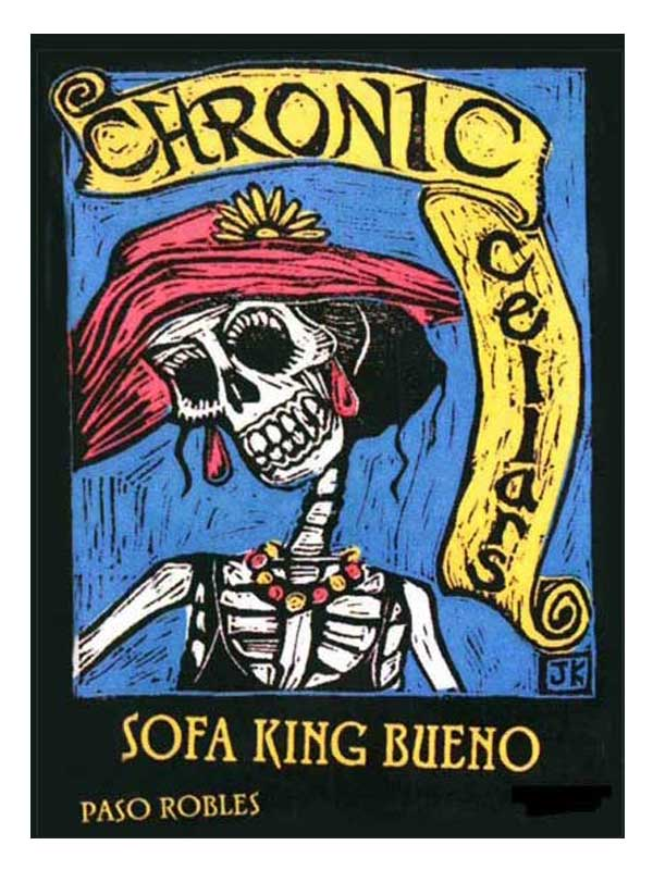 Chronic Cellars Chronic Cellars Sofa King Bueno Paso Robles - Sofa king