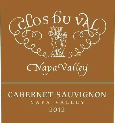 Clos du Val Cabernet Sauvignon Napa Valley 2012 750ML Label