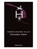 Columbia Crest Merlot H3 Horse Heaven Hills 750ML Label