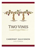 Two Vines Cabernet Sauvignon 750ML Label