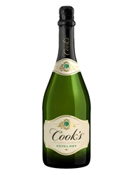 Cooks Extra Dry Champagne NV 750ML Bottle