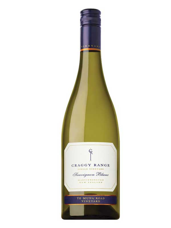 Craggy Range Sauvignon Blanc Te Muna Road Vineyard Martinborough 750ML Bottle
