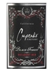 Cupcake Black Forest Decadent Red 750ML Label