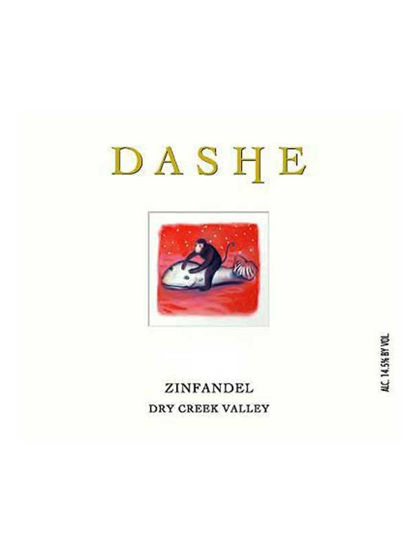 Dashe Cellars Zinfandel Dry Creek 2011 750ML Label