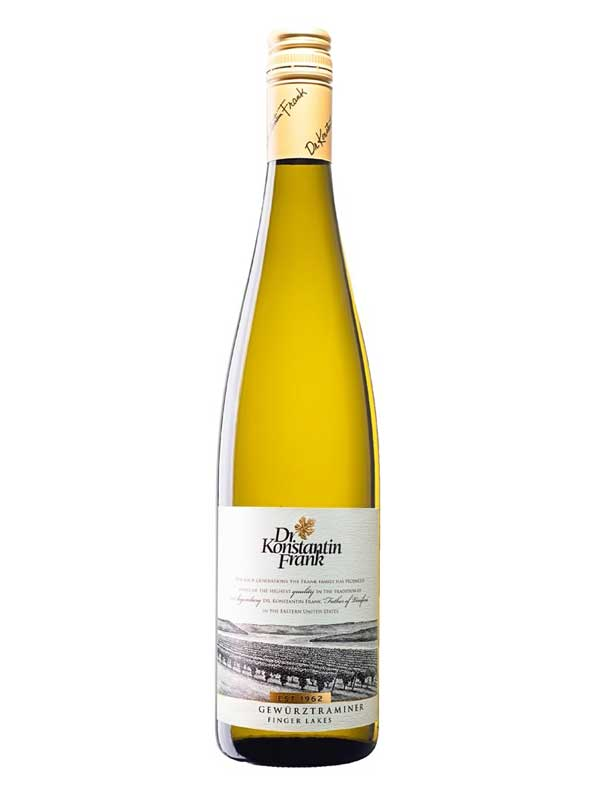 Dr. Konstantin Frank Gewurztraminer Finger Lakes 750ML Bottle