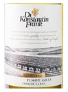Dr. Konstantin Frank Pinot Gris Finger Lakes 750ML Label