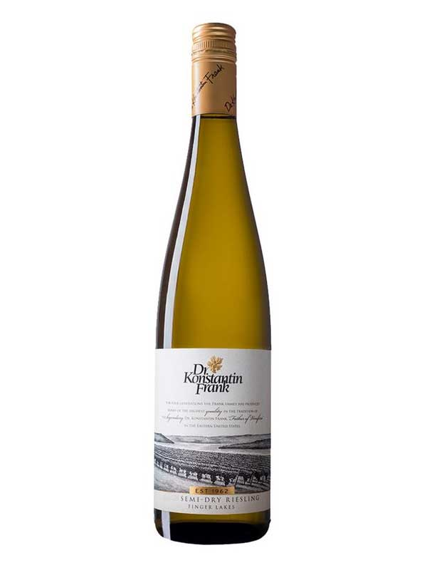 Dr. Konstantin Frank Riesling Semi Dry Finger Lakes 750ML Bottle