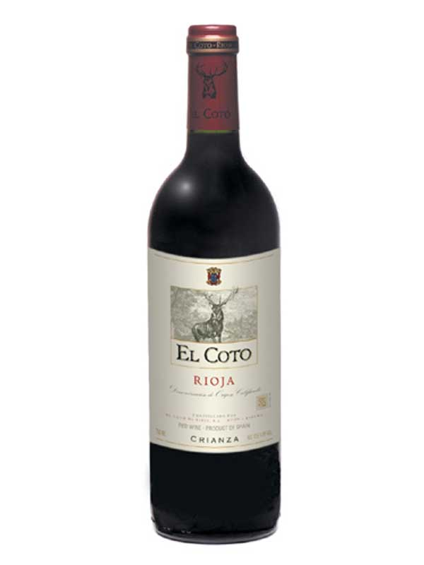 El Coto de Rioja Crianza 750ML Bottle