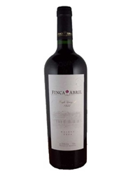 Finca Abril Malbec Single Vineyard 1922 Valle del Uco Mendoza 750ML Bottle