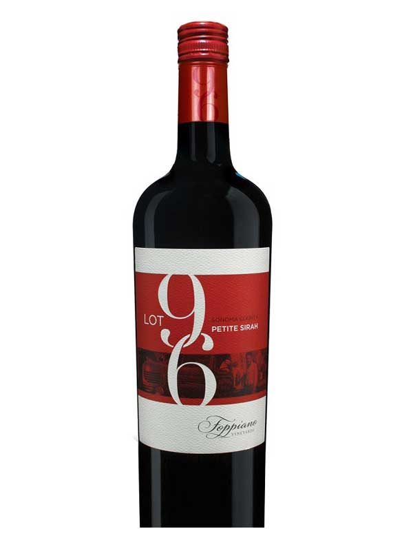 Foppiano Vineyards Lot 96 Petite Sirah Sonoma 2014 750ML Bottle