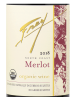 Frey Vineyards Merlot North Coast 2018 750ML Label