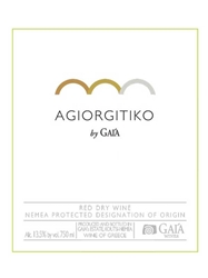 Gaia Agiorgitiko Nemea 750ML Label